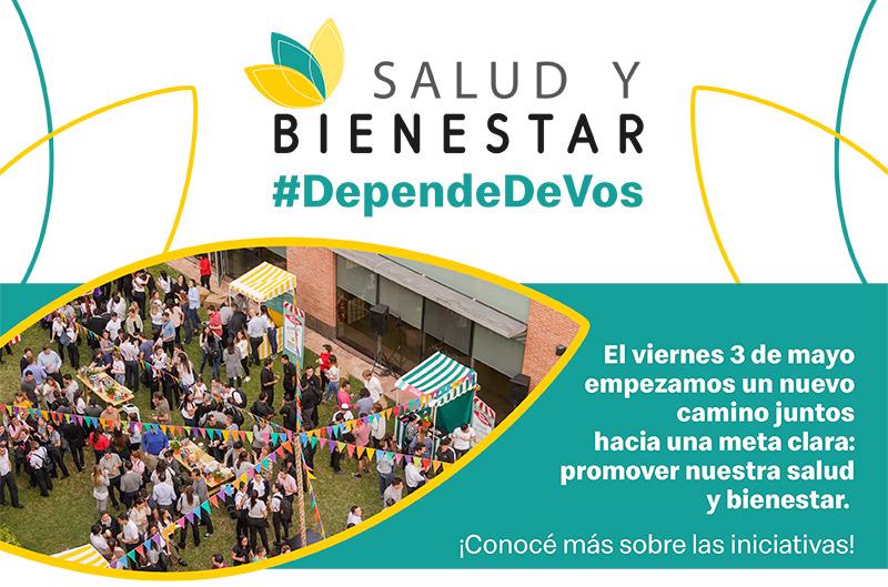Salud y Bienestar #DependeDeVos